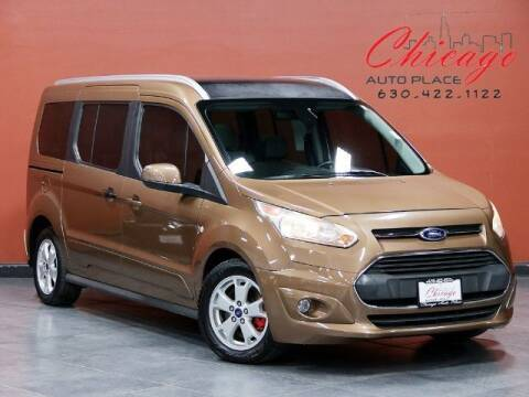 2014 Ford Transit Connect Wagon for sale at Chicago Auto Place in Bensenville IL