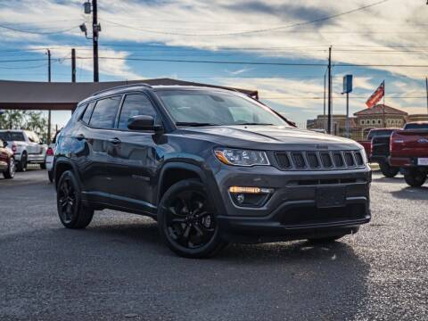 2019 Jeep Compass for sale at Jerrys Auto Sales in San Benito TX