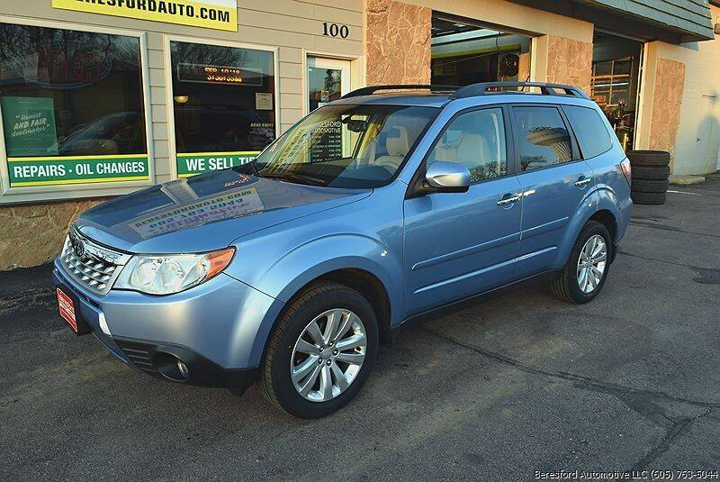 2012 Subaru Forester for sale at Beresford Automotive in Beresford SD