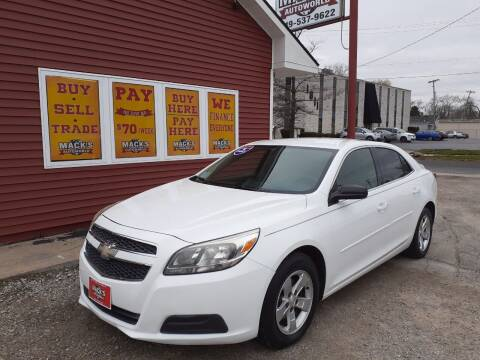2013 Chevrolet Malibu for sale at Mack's Autoworld in Toledo OH