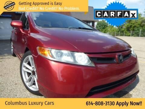 2007 Honda Civic for sale at Columbus Luxury Cars in Columbus OH