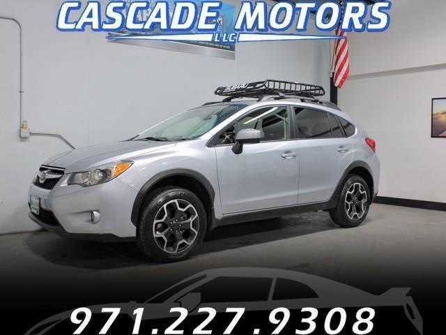 2015 Subaru XV Crosstrek for sale at Cascade Motors in Portland OR