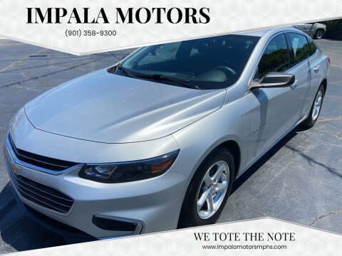 2016 Chevrolet Malibu for sale at IMPALA MOTORS in Memphis TN