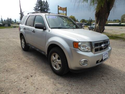 2011 Ford Escape for sale at VALLEY MOTORS in Kalispell MT