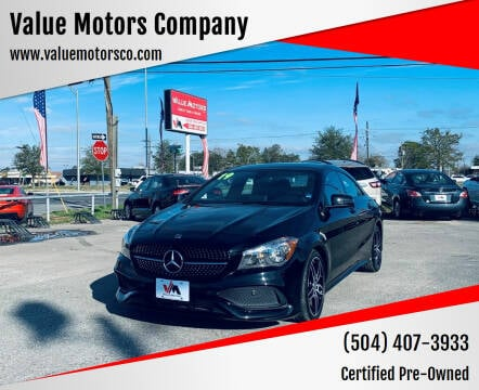 2019 Mercedes-Benz CLA for sale at Value Motors Company in Marrero LA