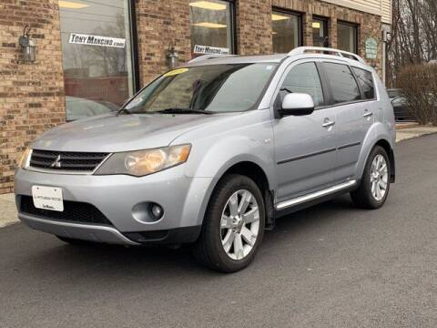 2008 Mitsubishi Outlander for sale at The King of Credit in Clifton Park NY