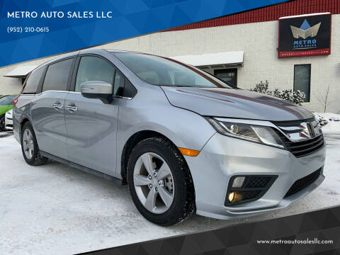 2019 Honda Odyssey for sale at METRO AUTO SALES LLC in Blaine MN
