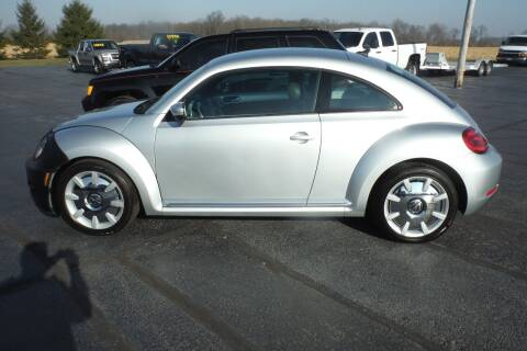 2012 Volkswagen Beetle for sale at Bryan Auto Depot in Bryan OH