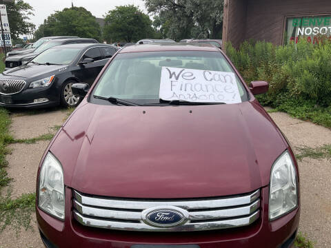 2006 Ford Fusion for sale at Continental Auto Sales in White Bear Lake MN