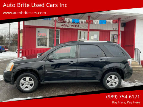 2009 Chevrolet Equinox for sale at Auto Brite Used Cars Inc in Saginaw MI