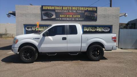 2009 Ford F-150 for sale at Advantage Motorsports Plus in Phoenix AZ