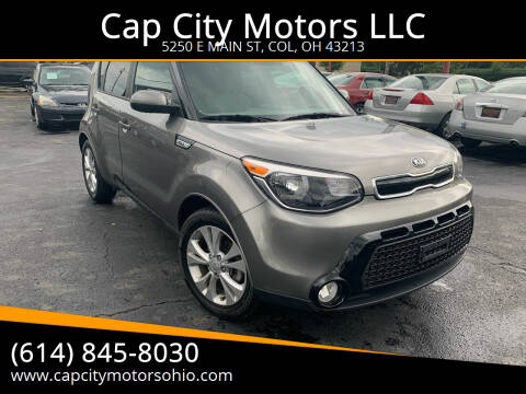 2016 Kia Soul for sale at Cap City Motors LLC in Columbus OH