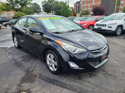 2012 Hyundai Elantra for sale at Costas Auto Gallery in Rahway NJ