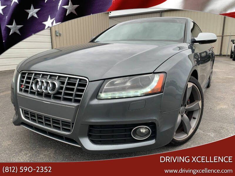 2012 Audi S5 for sale at Driving Xcellence in Jeffersonville IN
