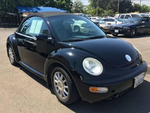 2004 Volkswagen New Beetle for sale at Dealer Finance Auto Center LLC in Sacramento CA