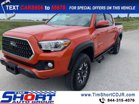 2018 Toyota Tacoma for sale at Tim Short Chrysler in Morehead KY