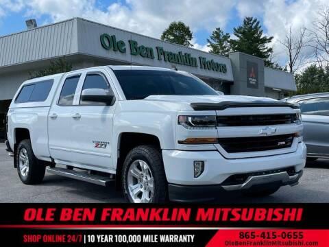2016 Chevrolet Silverado 1500 for sale at Ole Ben Franklin Motors Clinton Highway in Knoxville TN