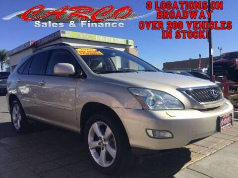 2008 Lexus RX 350 for sale at CARCO SALES & FINANCE in Chula Vista CA