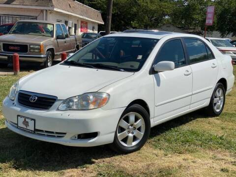 2005 Toyota Corolla for sale at Texas Select Autos LLC in Mckinney TX