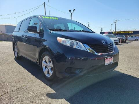 2011 Toyota Sienna for sale at Primo Auto Sales in Merced CA