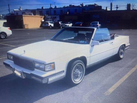 1988 Cadillac DeVille for sale at Black Tie Classics in Stratford NJ