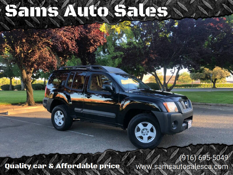 2005 Nissan Xterra for sale at Sams Auto Sales in North Highlands CA