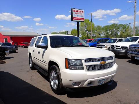 2014 Chevrolet Suburban for sale at Marty's Auto Sales in Savage MN