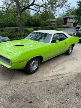 1970 Plymouth Barracuda for sale at Midwest Vintage Cars LLC in Chicago IL