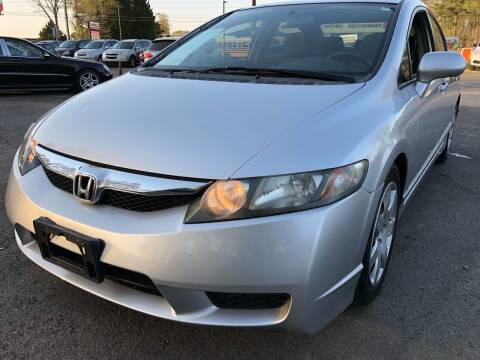 2010 Honda Civic for sale at Atlantic Auto Sales in Garner NC