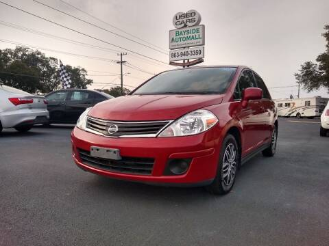 2011 Nissan Versa for sale at BAYSIDE AUTOMALL in Lakeland FL