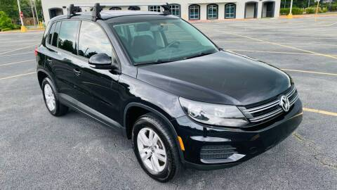 2013 Volkswagen Tiguan for sale at H & B Auto in Fayetteville AR