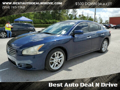 2009 Nissan Maxima for sale at Best Auto Deal N Drive in Hollywood FL