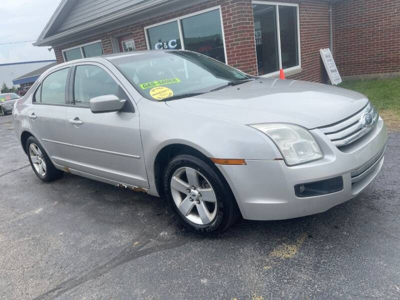 2007 Ford Fusion for sale at C&C Affordable Auto and Truck Sales in Tipp City OH
