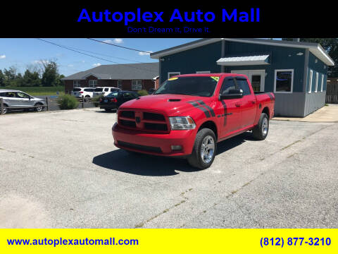 2012 RAM Ram Pickup 1500 for sale at Autoplex Auto Mall in Terre Haute IN