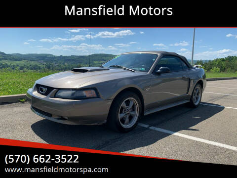 2002 Ford Mustang for sale at Mansfield Motors in Mansfield PA