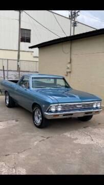 1966 Chevrolet El Camino for sale at Classic Car Deals in Cadillac MI