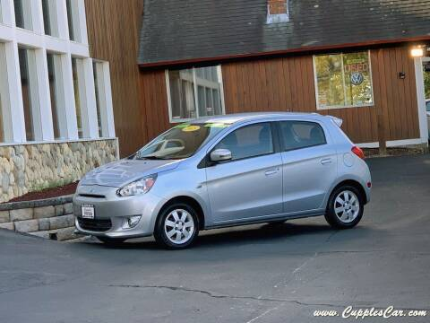 2015 Mitsubishi Mirage for sale at Cupples Car Company in Belmont NH