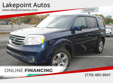 2012 Honda Pilot for sale at Lakepoint Autos in Cartersville GA