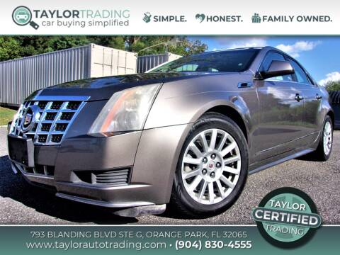 2012 Cadillac CTS for sale at Taylor Trading in Orange Park FL