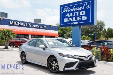 2021 Toyota Camry for sale at Michael's Auto Sales Corp in Hollywood FL