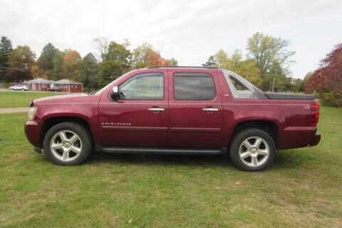 2008 Chevrolet Avalanche for sale at Clearwater Motor Car in Jamestown NY