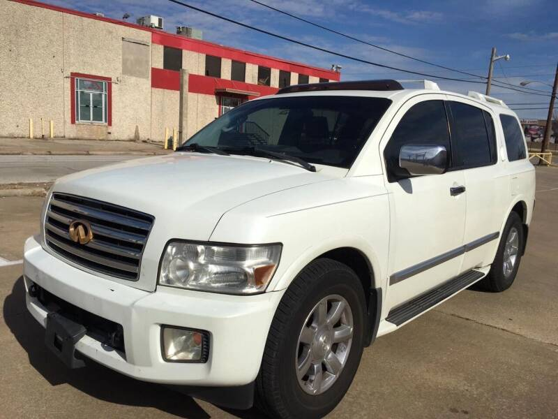 2004 Infiniti QX56 for sale at Dynasty Auto in Dallas TX