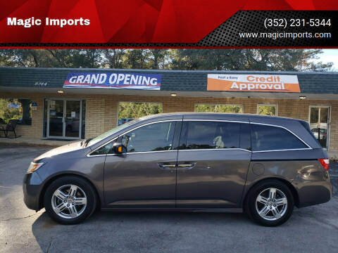 2011 Honda Odyssey for sale at Magic Imports in Melrose FL