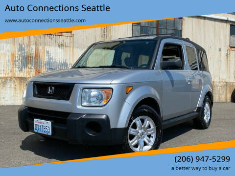 2006 Honda Element for sale at Auto Connections Seattle in Seattle WA