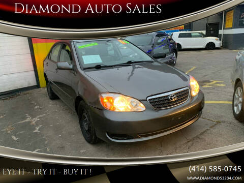 2006 Toyota Corolla for sale at Diamond Auto Sales in Milwaukee WI