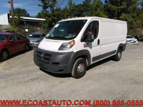 2017 RAM ProMaster Cargo for sale at East Coast Auto Source Inc. in Bedford VA