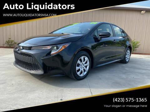 2020 Toyota Corolla for sale at Auto Liquidators in Bluff City TN
