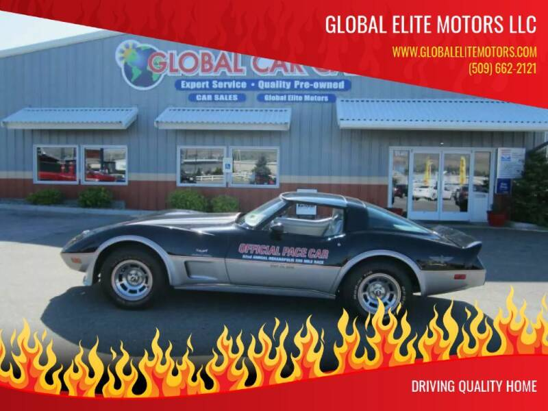 1978 Chevrolet Corvette for sale at Global Elite Motors LLC in Wenatchee WA