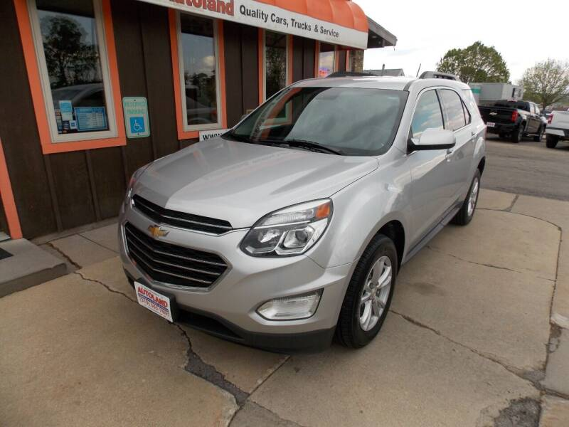 2017 Chevrolet Equinox for sale at Autoland in Cedar Rapids IA