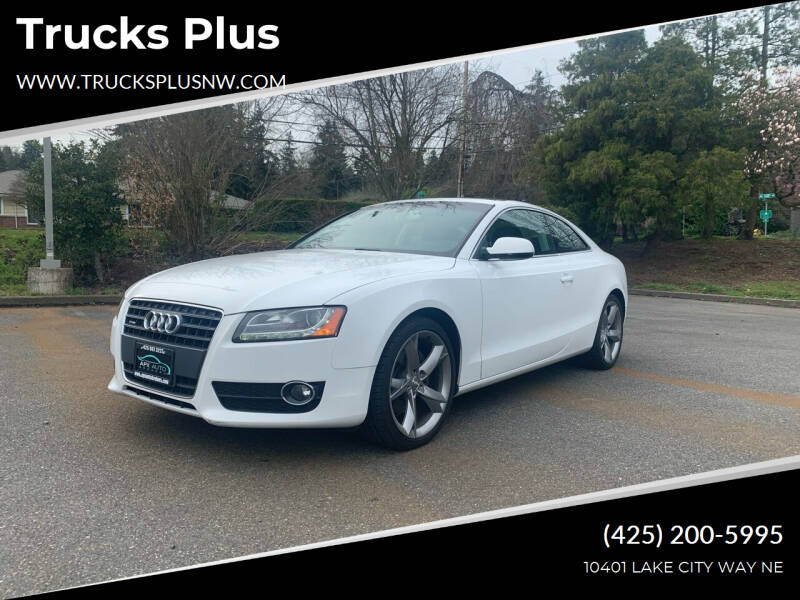 2011 Audi A5 for sale at Trucks Plus in Seattle WA